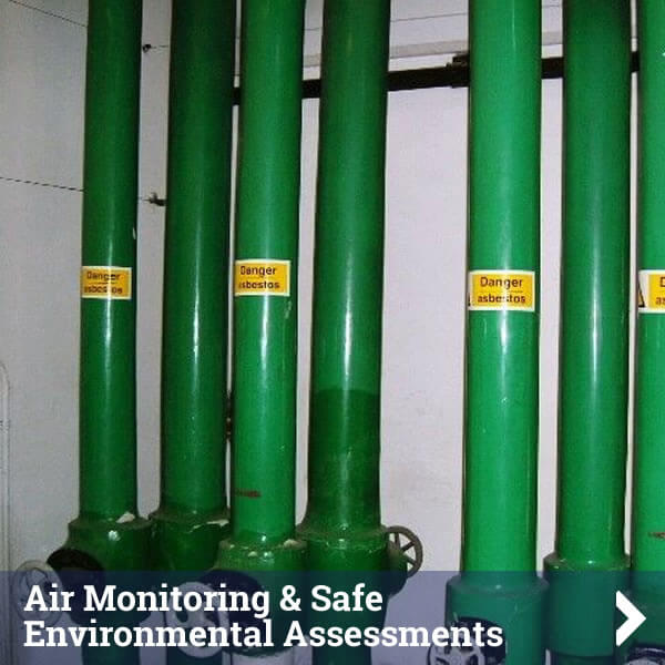 Air Monitoring and Safe Environment Assessments Service - Click to find out more